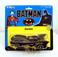 ERTL BATMAN LARGE BATMOBILE 1/48 DIECAST 2575 MINT ON CARD 1989
