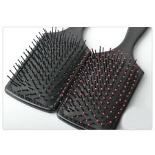 Salon Quality Hair Brushes Black Hairdressing Salon Styling Paddle Brush JI1