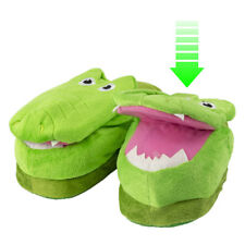 Croc - Silly Slippers, Animated Action with Each Footstep - Crazy Slipper  Small