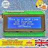 IIC/I2C 2004 20X4 Character LCD Module Display Blue Green Arduino Raspberry PI