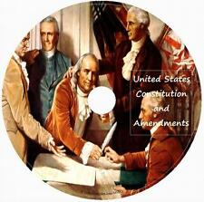 United States Constitution and Amendments 1 AUDIO CD unabridged English