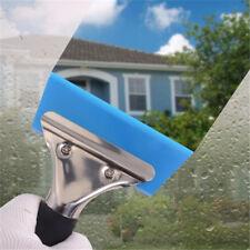 Blue Razor Blade Scraper Water Home Office Car Auto Film Window Cleaning Shan