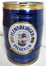 FLENSBURGER PILSENER BIER FASS BIERFASS PARTYFASS BEER 5L 4,8%