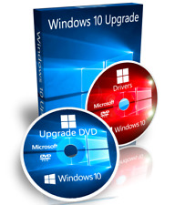 Dell Windows 8 / 8.1 Pro Upgrade To Windows 10 Pro + Drivers + Recovery 32 Bit