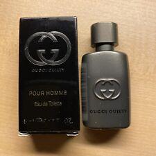 Gucci Guilty Pour Homme Eau de Toilette EDT 0.16 oz/5 ml Mini Splash