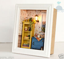 DIY Handcraft Miniature Project Wooden Dolls House Long Vacation Dawn Whispers