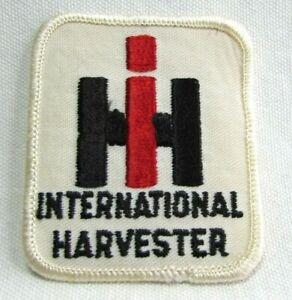Vintage IH International Harvester Jacket Patch Badge Tractor Equipment Farming