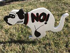 No Poop Dog Sign