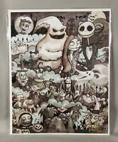 Nightmare Before Christmas 8x10 print signed by artist