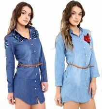 Unbranded Cotton Embroidered Tops & Shirts for Women