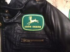 *Love It Or Its Free* John Deere embroidered patch, Free Ship (3In X 2-1/4In)
