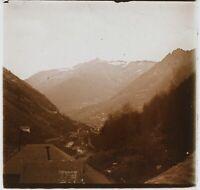 Montagne Francia Foto PL53L2n14 Stereo Placca da Lente Vintage