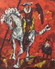 """HENRI D'ANTY """"DON QUIXOTE"""" - SERIGRAPH ON PAPER, LIMITED EDITION OF 250, COA"""