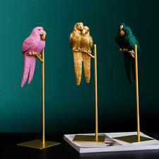 1St Creative Resin Simulierte Tier Glückspapagei Vogel Handwerk Ornamente Dekor