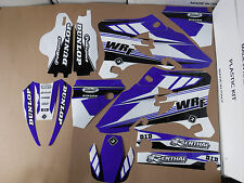 FLU DESIGNS PTS3 TEAM GRAPHICS  YAMAHA WR250F WR450F 2005 2006