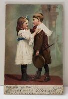 Raphael Tuck, Off For The Day, Little Men & Womem Series pre 1907 Postcard B8