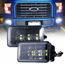 1 Pair 36W 4 Inch LED Fog Light Assembly Kit for Ford F150 2015 2016 2017 2018