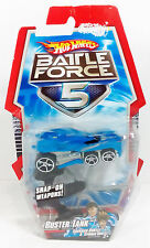 2009 MATTEL HOT WHEELS BATTLE FORCE 5 BRAND NEW MOSC MOC - BUSTER TANK VEHICLE
