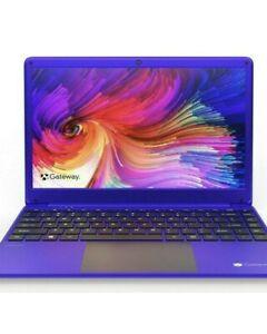 """Gateway 14.1"""" Full HD Ultra Slim Intel 2.8GHz 64GB SSD 4GB RAM Win10 Purple"""