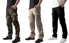 URBAN CLASSICS Pantaloni uomo Camouflage Cargo Pants