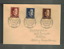 1942 Krakow Poland to Germany Lublin GG Concentration Camp Guard KZ Cover