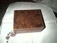 ancienne boite en bois