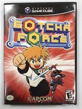Gotcha Force Nintendo GameCube Complete CIB Manual **RARE GREAT SHAPE**