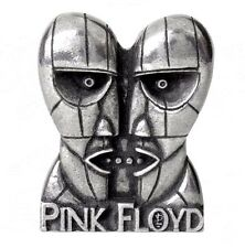 Pink Floyd Division Bell Heads Licensed Pewter Pin Alchemy Rocks PC502 Pinback