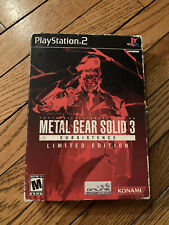Metal Gear Solid 3: Subsistence (Limited Edition) (Sony PlayStation 2, 2006) PS2