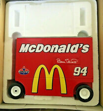 Bill Elliott #94 McDonald's 1:16 Scale Diecast Pit Wagon Bank by Action