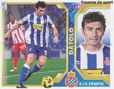 N°11B ALBERTO DATOLO # ARGENTINA RCD.ESPANYOL STICKER CROMO PANINI LIGA 2012