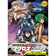 DVD Macross Frontier (TV 1 - 25 End) DVD + 2 Movies + Free Gift