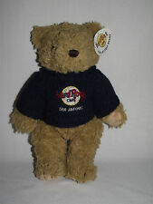 Hard Rock Cafe Teddy Bear San Antonio Sweater Plush Texas Stuffed Animal w/ Tags