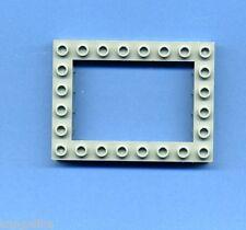 Lego--40345 -- Lochstein -- 6 x 8 -- Grau/OldGray -- Verbindungselement --