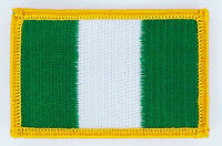 NIGERIA NIGERIAN FLAG PATCHES backpack  PATCH BADGE IRON ON NEW EMBROIDERED