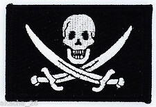 PATCH EMBROIDERY FLAG PIRATE JACK RACKHAM NEW