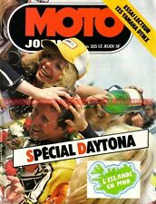 MOTO JOURNAL  355 YAMAHA DTMX 125 DAYTONA Maïco 250 MOBYLETTE Barry SHEENE 1978