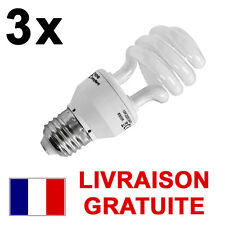 3 x ampoules Luminothérapie 13 watt 6500K Lumière du jour e-27 Grande Vis 15888