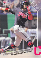 Francisco Lindor Cleveland Indians Record with 26th Home Run 2017 Topps NOW 554
