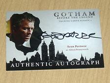2017 Cryptozoic Gotham season 2 autograph card Sean Pertwee as ALFRED
