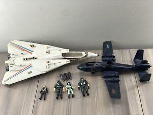GI Joe Cobra 1984/1983 Rattler Sky Striker Plane Jet Vehicle Figure Parts Lot