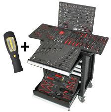 Werkstattwagen inkl. Werkzeug Werkzeugkiste Werkzeugwagen Werkzeugkasten schwarz