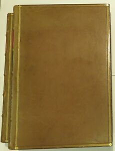 The History Of The Decline And Fall Of The Roman Empire Leather Binding 2 vols