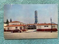 Motel Silva, Berkeley California Vintage Postcard