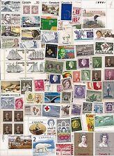 vintage CANADA Canadian postage stamps w some older + high value lot C17CA MNH