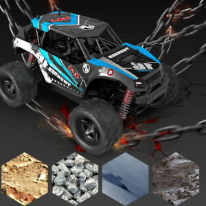 4WD High Speed Fast Remote Controlled RC Car 2.4G Large Kids Gifts Toy 30MPH UK