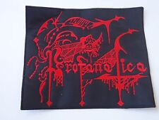 PROFANATICA BLACK DEATH METAL EMBROIDERED PATCH