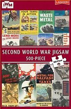 SECOND WORLD WAR JIGSAW - 500 PIECE - IMPERIAL WAR MUSEUM (IWM) WWII LAND / ARMY