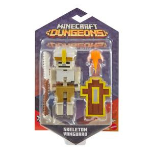 Minecraft Dungeons Skeleton Vanguard 3.25 Figure NEW