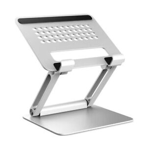 Deluxe Aluminium Folding Adjustable  Desk Stand For Laptop